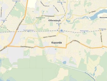Карта месторасположения города