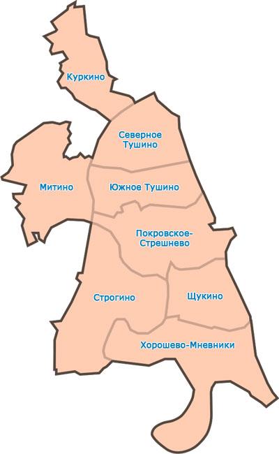 Схема Северо - Западного
