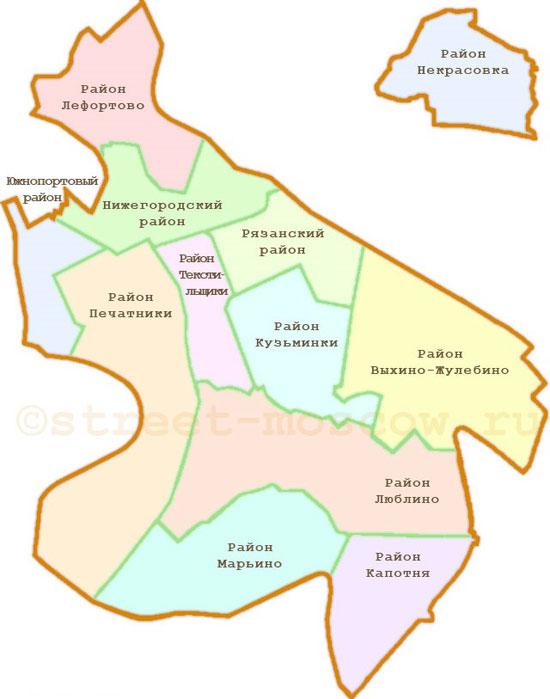 Схема Юго - Восточного